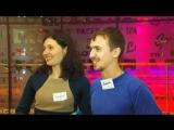 Репортаж 1 Городского канала, вечеринка знакомств