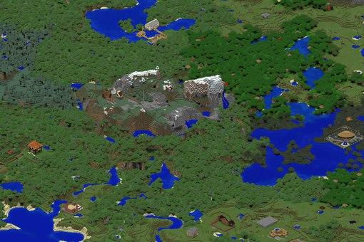 Сервер Olympus Minecraft: