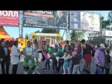 Праздник для  детей у ТК Лента Елизавета и Анна Родины- 100% Россия