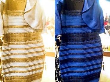 Платье цвет разный видят