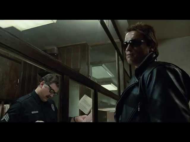 Terminator - Police Station Shootout (HD)
