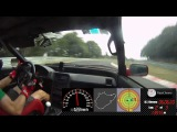 Nurburgring Nordschleife, Honda CRX and an angry driver - 832 -