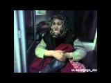 ГКГО ДНР. Эвакуация пожилой женщины из разрушенного города.