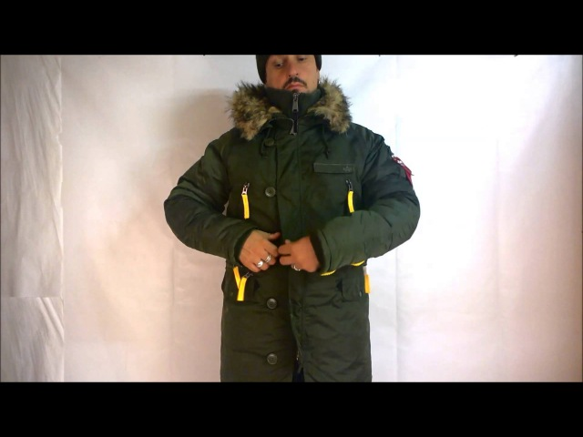 Куртка аляска Alpha PPS N3 B обзор от магазина Камуфляж и снаряжение FORCE'AGE