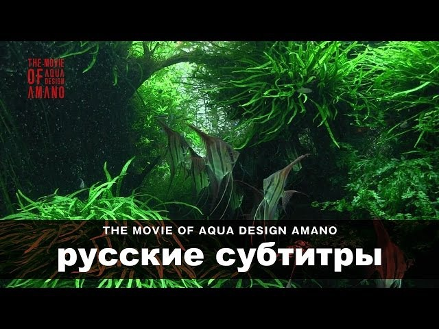 [ADAview] THE MOVIE OF AQUA DESIGN AMANO [side:concept] - русские субтитры
