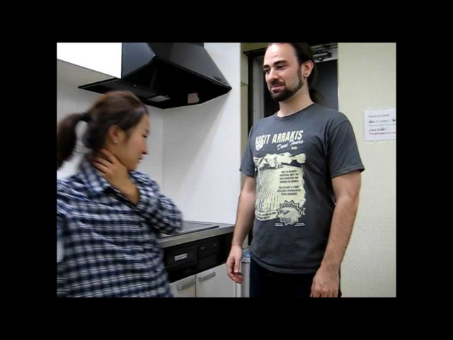 Kepsen Kepos Japan Vlog32: Крохотная кореянка избивает парня из Франции