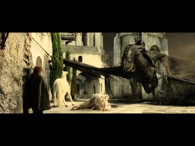 The Lord Of The Rings Gandalf vs Witch King of Angmar 1080p HD