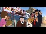 Кот в сапогах  Кот в сапогах на Диком Западе Япония [мультфильмы cartoon мультики]