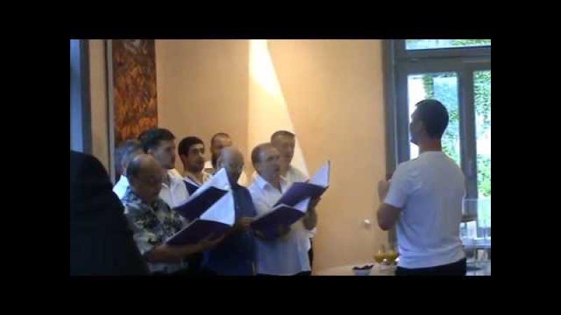 Хор Новоспасского монастыря Из за леса из за рощи казачья песня
