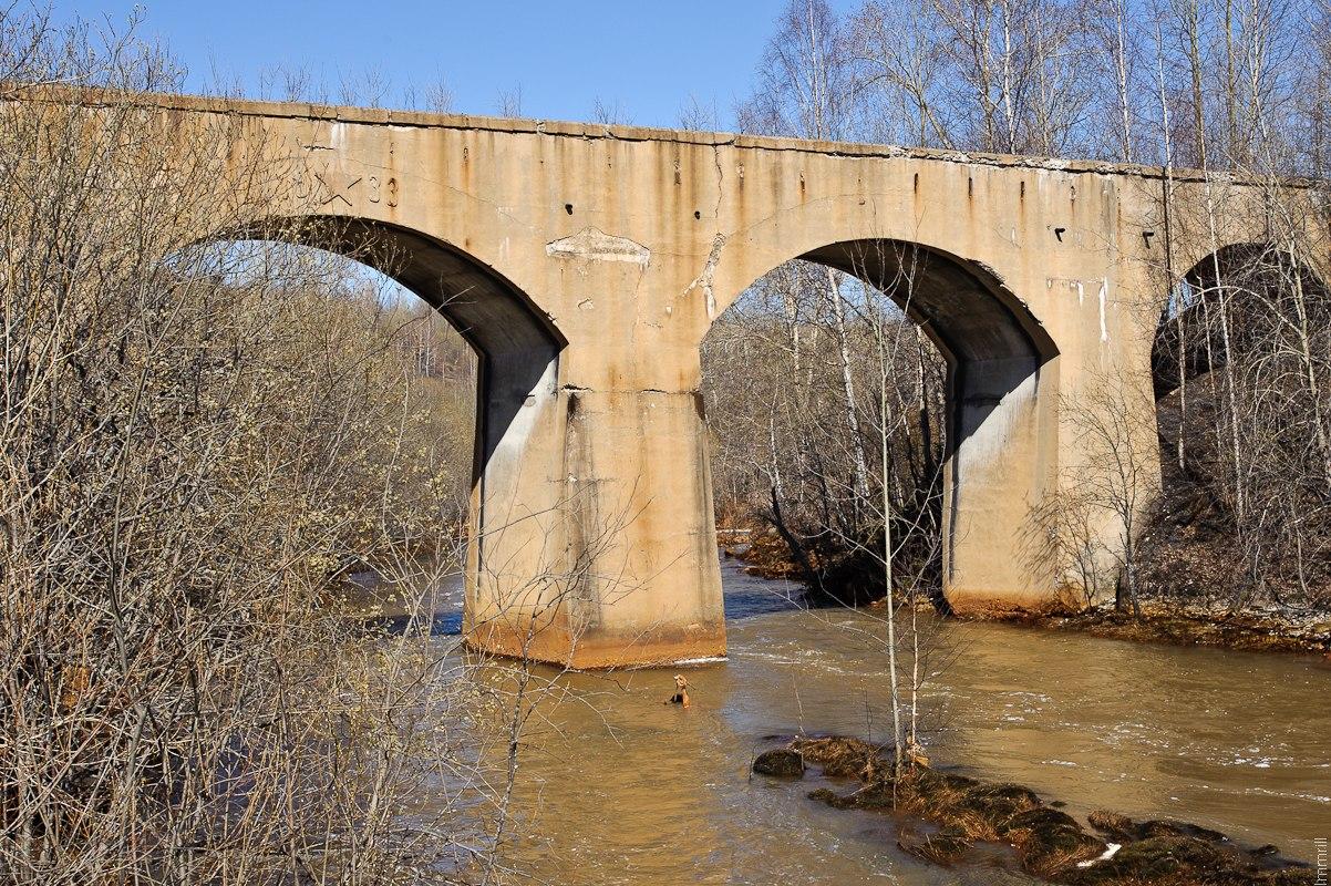 Мост через реку Кизел