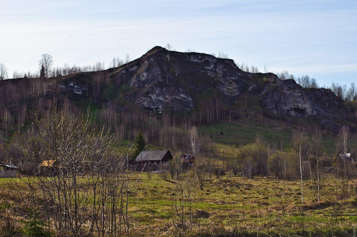Лысая гора у станции Расик