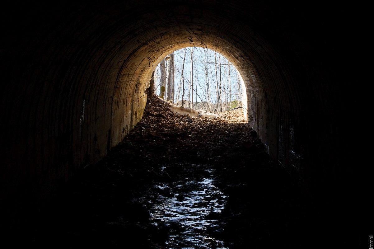Заброшенная угольная шахта