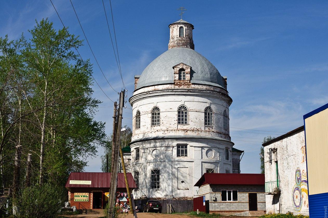 Церковь в селе Карагай