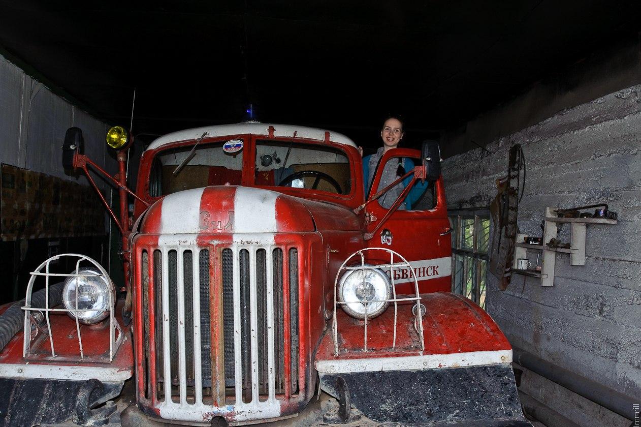 Пожарная часть в Обвинске