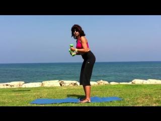 упражнения с гантелями для женщин exercises with dumbbells at home