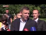 Глава ДНР вызвал Турчинова на поединок  Я даже готов встать на костыли