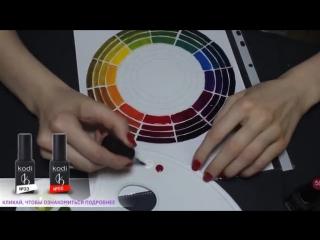 Гель-лак. Как смешивать цвета.
