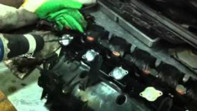 Удаление вихревых заслонок в DieselBoost