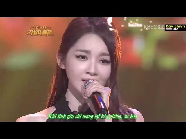 [VietsubKara] A Million Roses - Davichi ( Kang Min Kyung ft Lee Haeri)