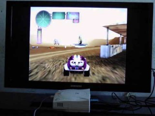 Dreamcast with USB-GDROM Controller