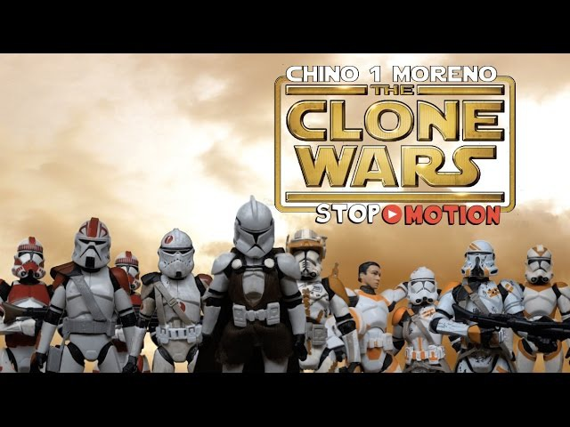 Clone Wars: Obi-Wan 212th battalion ambush stop motion
