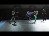 Batman and Robin vs Spider-Man - Full MMA Fight