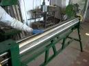 трехвалковый станок, вальцы 2 метра, листогиб