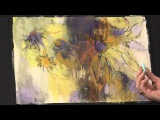 Pastel Painting Tips for Abstract Flowers with Debora Stewart