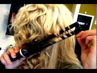Двойная плойка для волос причесок
