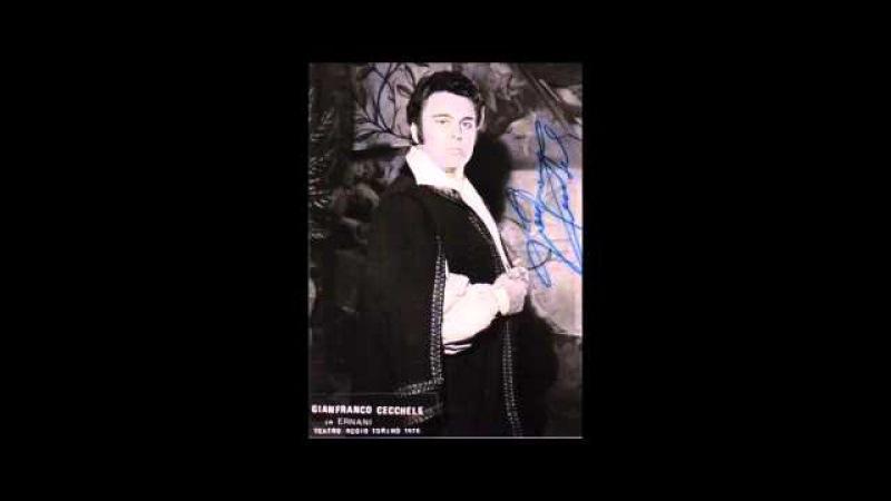 Gianfranco Cecchele Colpito qui m'avete Andrea Chenier