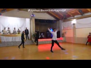 Грузинская Лезгинка красавцы зажигают по полной - Georgian Lezginka in Wedding