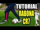 RABONA EN EL FUTBOL COMO CR7 / FUTBOL TUTORIAL