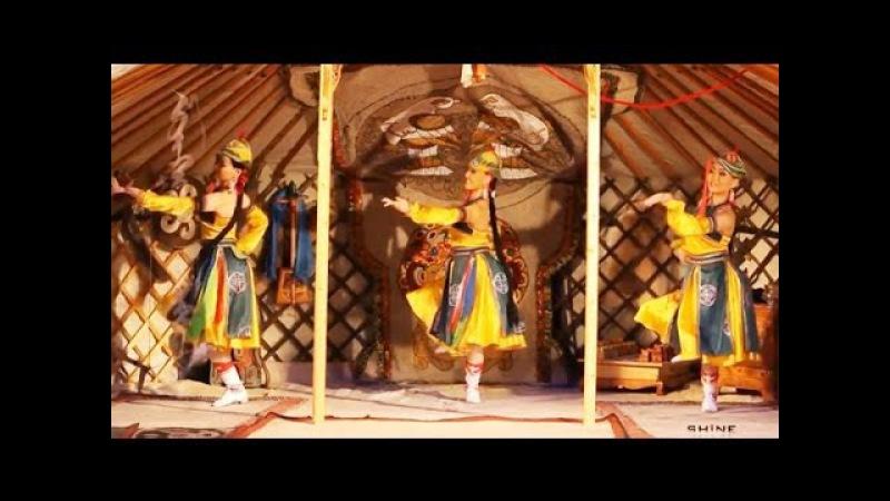 Mongolian Music Dance Mongolian Lady (HD)