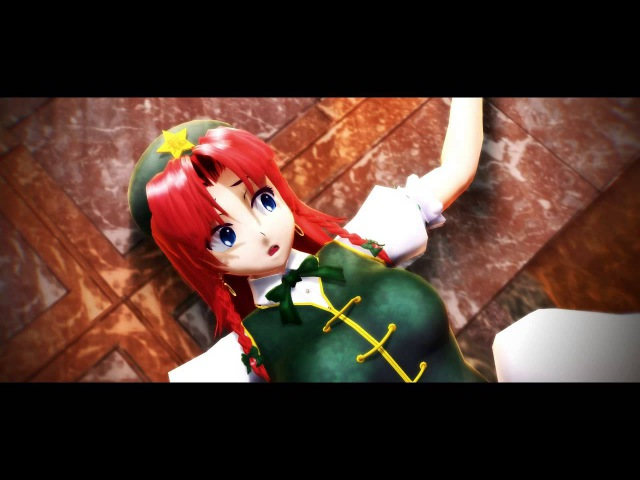 第13回MMD杯本選 Do You Want To Build A Snowman 東方偶像鄉