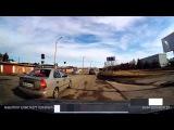 Аварийная ситуация - Нарушение движения по полосам - Снежинск 26 апреля 2015