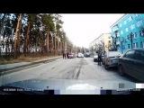 ДТП на 40 лет Октября 5. 4 авто. Снежинск 25 апреля 2015