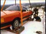 История подъема Audi 100 CS quattro по трамплину в Финляндии