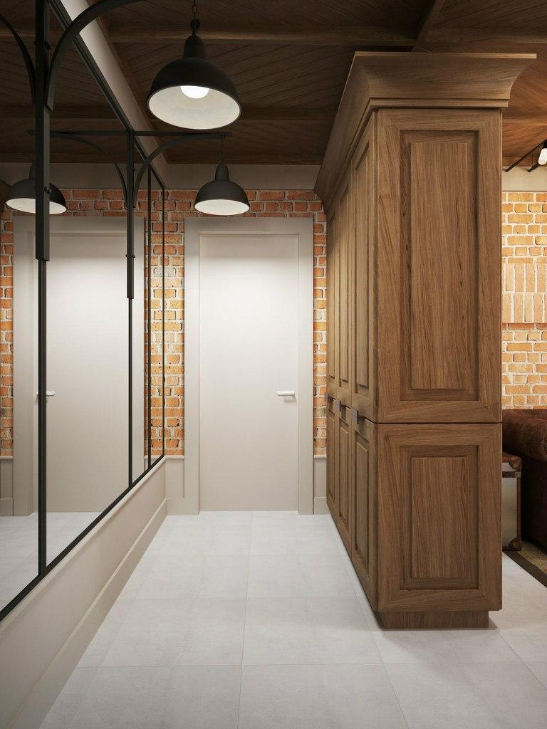 Проект лофт-студии 37 м.