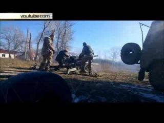 Покарали карателей ответным огнем обстрел силовиков ополченцами попал на видео