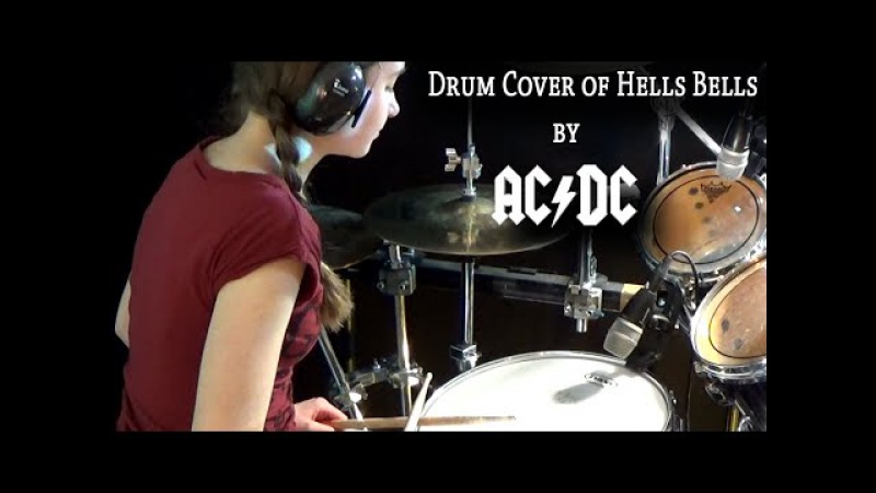 Hells Bells (ACDC) drum cover by Sina