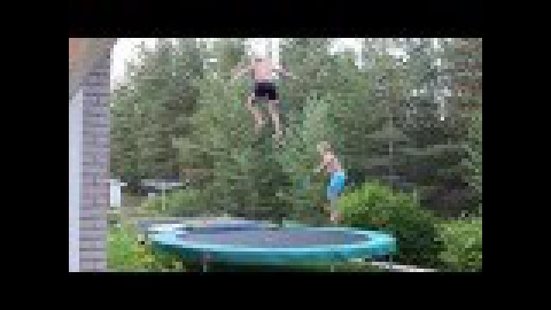 Insane Trampoline Tricks 2 (Quad, Landed Triple)