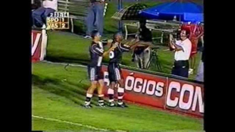 Torneio Rio-São Paulo 1999 - 2º Jogo da semifinal - São Paulo 1x3 Vasco - Gols do Vasco