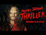 Michael Jackson - Thriller  Ten Second Songs 20 Style Halloween Cover