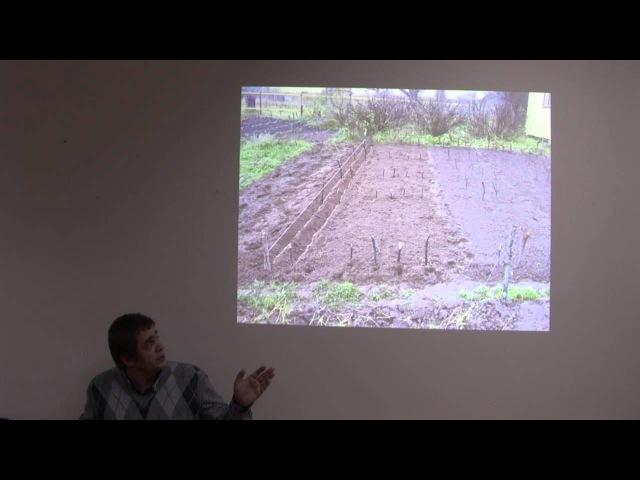 Лекция Алексея Ярошенко о создании любительских лесных питомников