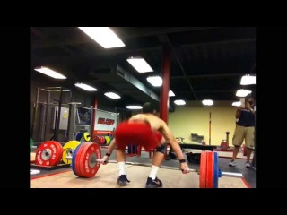 160kg snatch at 80kg body weight - James Tatum