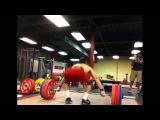 160kg snatch at 80kg body weight - James Tatum