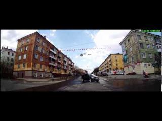 Очередной проскакун перед носом - Снежинск 30 апреля 2015