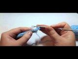 Вязание крючком: Снуд - описание узора