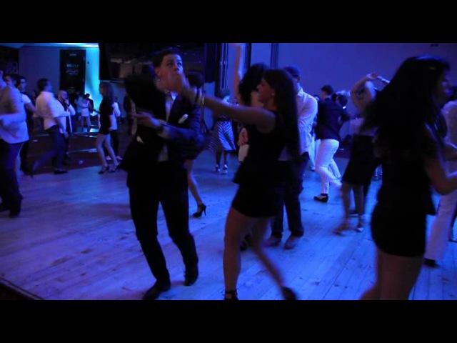 2013 Milan On2 Congress Eddie Torres Jrn and Shani Talmor social dance