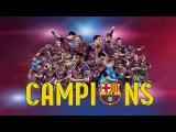 FC Barcelona, campeones UEFA Champions League 2015 (ESP)